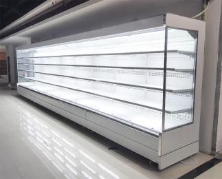 陕西西安 定制超市冷柜 保鲜展示冷柜 便利店冷柜 风幕柜