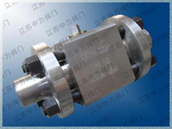 600LB高溫高壓焊接球閥Q61N