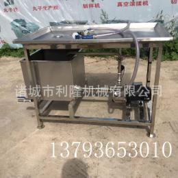 手動鹽水注射機 牛羊雞肉腌制注射機 不銹鋼帶骨肉類增重注射設備