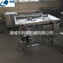 豬牛羊肉手動鹽水注射機 不銹鋼平臺式五花肉淀粉注射機