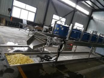 马铃薯片油炸机 马铃薯片加工设备 马铃薯片流水线