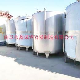 定制大型户外储罐100L-10000L啤酒发酵罐