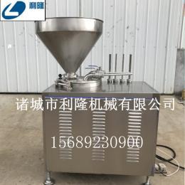 高效节能液压灌肠机 不锈钢肉泥红肠灌装机