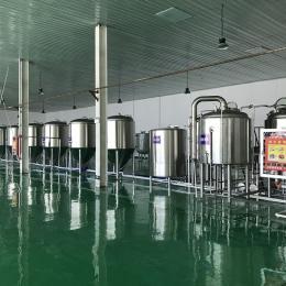 小型啤酒廠設備,精釀原漿啤酒設備