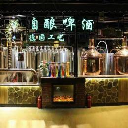 史密力維小型德國自釀啤酒設備,進口原漿啤酒設備廠家