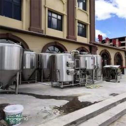 酒店自酿啤酒设备价格