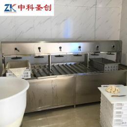 晋中智能豆腐机械设备 整套做豆腐设备 多功能豆腐机工厂价