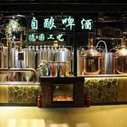 德国自酿啤酒设备-自酿原浆啤酒设备-厂家直供