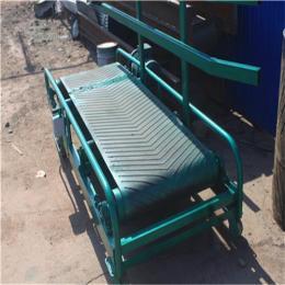 供应粮食输送机  移动式电动升降皮带输送机