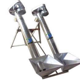 小型饲料螺旋输送机 厂家供应移动升降粉末螺旋输送机