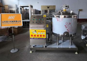 牛奶巴氏杀菌机 鲜奶杀菌设备