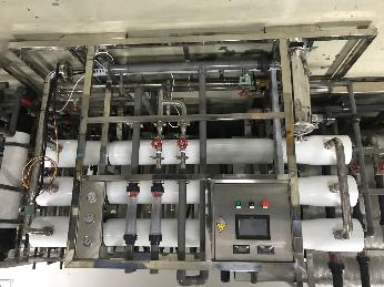 相城純水機 電子行業反滲透設備 水處理耗材更換