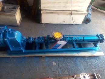 减速机型低转速不锈钢高压螺杆泵