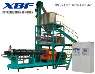 鑫贝发 大庆 组织蛋白生产线 双螺杆挤压膨化机  膨化豆制品设备