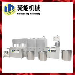 菏泽电加热豆腐机节能款式 全自动豆腐机省时省力 聚能豆制品设备 产品图片