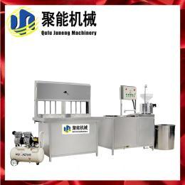 山东威海燃气加热花生豆腐机 自动煮浆豆腐机高产 聚能豆制品设备
