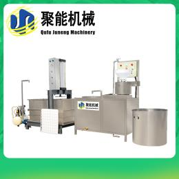 聚能豆腐干压榨成型机 小型全自动豆干机视频