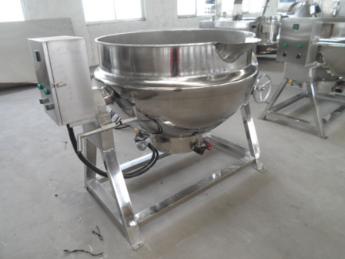 冠通机械厂家供应600电加热夹层锅 煮豆熬油夹层锅