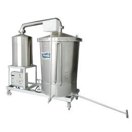 双层锅蒸汽导热酿酒设备