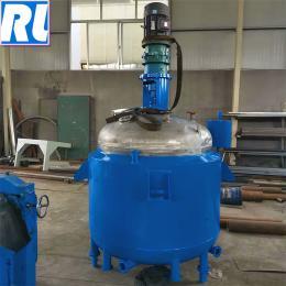 不銹鋼反應釜 電加熱反應釜 雙層夾套反應釜