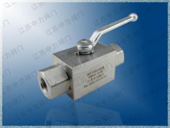 不銹鋼超高壓絲口球閥