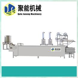 沧州自动豆腐皮机用电量小 不锈钢豆腐皮机直销 聚能千张机商用