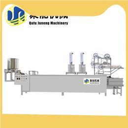 保定不锈钢豆腐皮机生产视频 全自动豆腐皮机厂家直销 聚能包教技术