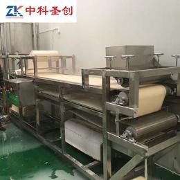 苏州自动仿手工豆腐皮机 气压豆腐皮机器商用 千张百叶机供应