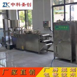 自贡小型磨煮浆一体豆腐皮机 高效自动豆腐皮机 全自动千张豆皮机教技术