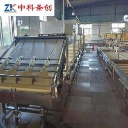 连云港厚薄均匀全自动腐竹机 不锈钢腐竹油皮机 腐竹自动成型设备支持定做