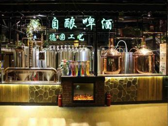 2000升大型精酿啤酒厂啤酒设备生产厂家