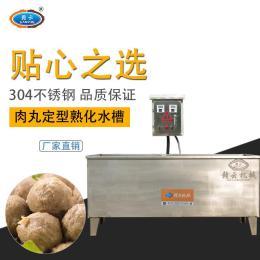 贛云機械煮丸子鍋水煮丸子設備雙溫水煮水槽
