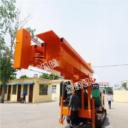 方塔折叠臂长螺旋钻机 植树挖坑机装载机式电线杆钻孔机