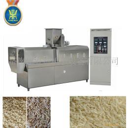 全自动人造大米设备双螺杆大米膨化机