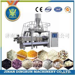 全自动方便米饭生产设备双螺杆大米挤压机