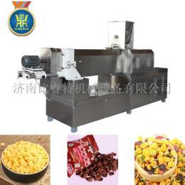 玉米片膨化机早餐谷物生产设备