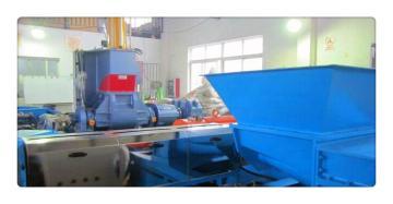 滑石粉高填充母料造粒机,PE滑石粉母粒造粒设备(品牌)