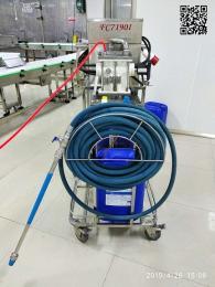 食品厂专用泡沫清洗机