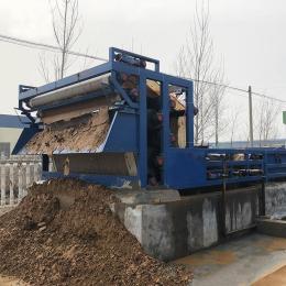 打桩污泥脱水机污泥脱水机 带式泥浆脱水机