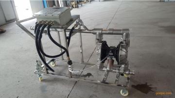 助磨剂灌装铁桶设备苯酚定量分装25公斤桶设备