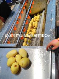 JIAPIN1500大型土豆去皮清洗机