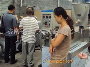 观赏鱼浮水饲料颗粒机 观赏鱼设备价格 鱼饲料机械