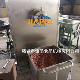 肉类破碎绞肉一体机 冻肉板粉碎机