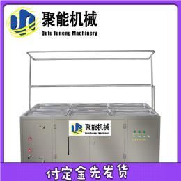 专用型大小型豆油皮机 小型多盒不锈钢腐竹油皮加工设备易操作