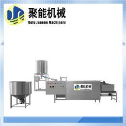 自动豆腐皮机械厂家 全自动数控豆腐皮机 聚能机械豆制品生产设备