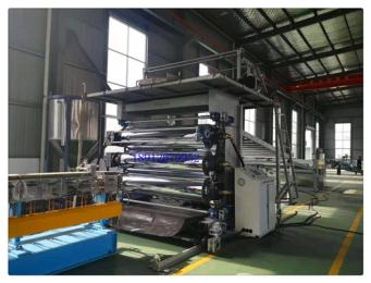 PVC板材挤出机,PVC板材挤出生产设备(品牌)
