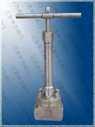 不锈钢承插焊接低温截止阀