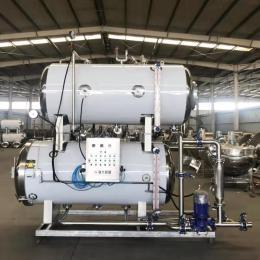 电汽两用双层热水循环杀菌锅