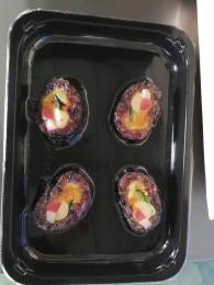 寿司贴体真空包装机 山东小康 厂家直销