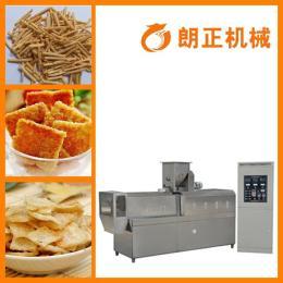 lz小型油炸锅巴机 膨化休闲食品生产线 沙拉薯条加工设备厂家直销